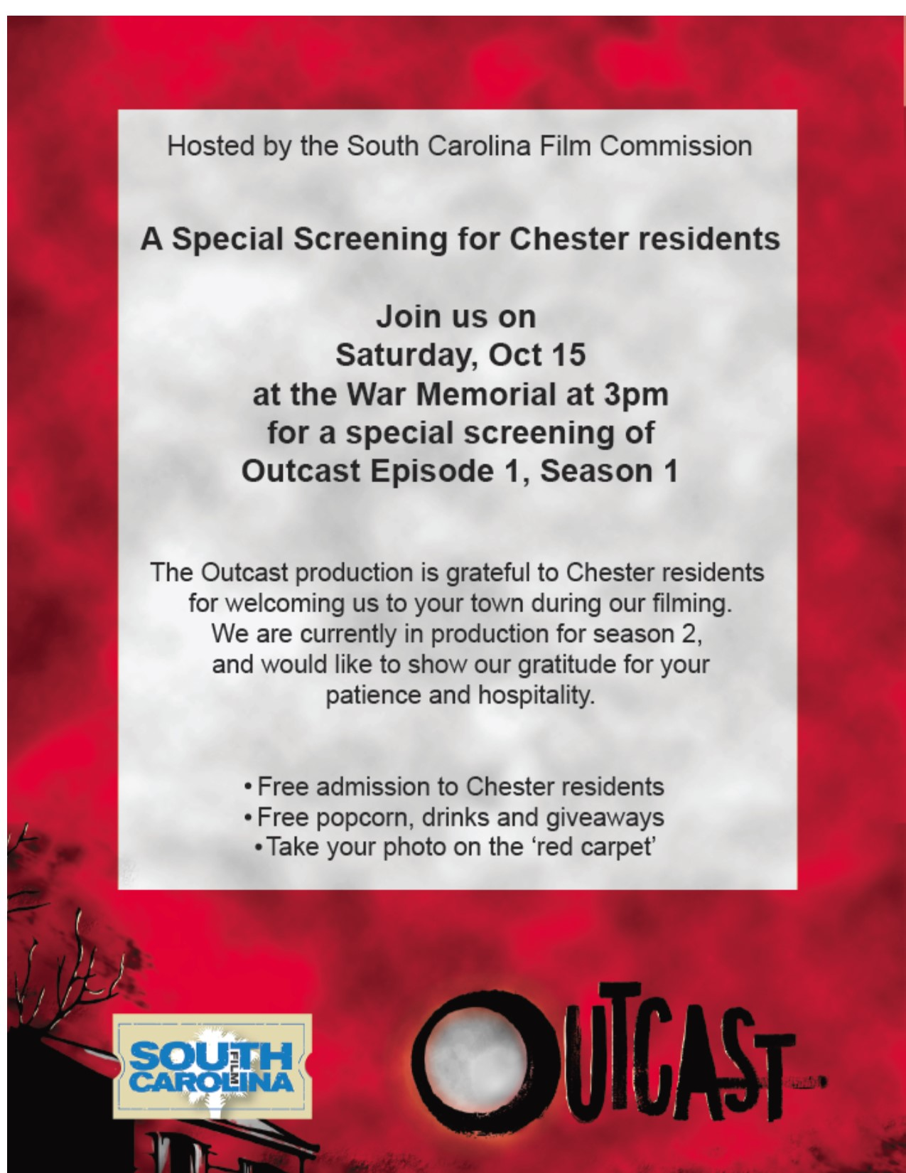 Outcast Screening